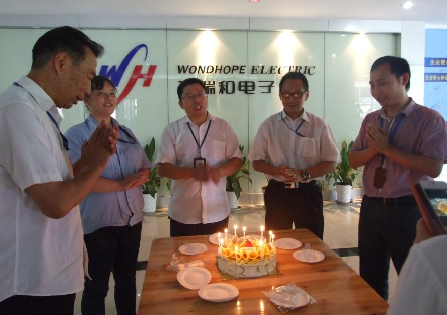 staff birthday August 2013